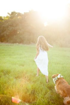 a Girls Best Friend: portraits with your Pup : Love Carmen Rose, dog flower colar, senior portraits with your dog