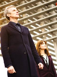 The Doctor and Clara in 'Time Heist'