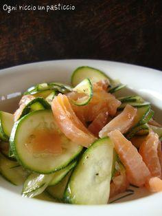 Zucchine che si cuociono da sole al salmone - Zucchini that you bake salmon sunglasses
