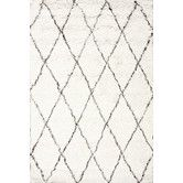 """Found it at AllModern - Moderna Moroccan Shag Area Rug for $363.99 in an 8x10! free shipping  This rug is very elusive. I've seen it on overstock for $700 consistently, but it pops up on joss&main, wayfair, and now """"all modern,"""" at discounted prices.  I love this rug for the room b/c it has the very subtle dark brown lines running through it."""