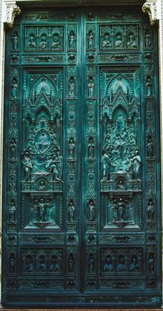 door details, florence.