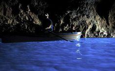 The Blue Grotto, Capri, Italy