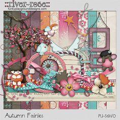 Autumn Fairies by River~Rose