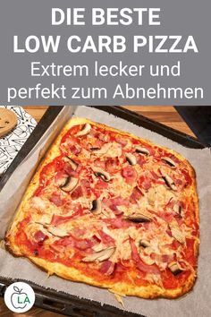 Low carb pizza - dinner recipe for slimming - The best low carb pizza recipe ca. , Low carb pizza - dinner recipe for slimming - The best low carb pizza recipe ca. High Protein Dinner, High Protein Low Carb, Pizza Recipes, Healthy Dinner Recipes, Low Carb Recipes, Barbecue Recipes, Paleo Recipes, Free Recipes, Cooking Recipes