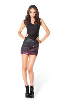 Galaxy Pink Skirt › Black Milk Clothing in S