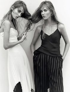 Amalie and Cecile Moosgaard_'Twin Sisters'_Numéro #170 February 2016 www.Luxybug.net