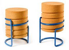 German designer Manuel Welsky has created the SCRW stool.