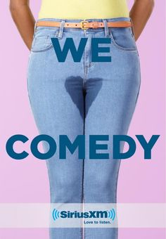 Print Advertising Campaign Inspiration SiriusXM: We Love Comedy, 2 Clever Advertising, Advertising Poster, Advertising Campaign, Advertising Design, Marketing And Advertising, Ad Of The World, Funny Ads, Great Ads, Guerilla Marketing