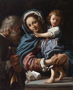 Bartolomeo Schedoni, The Holy Family, c. 1610-12