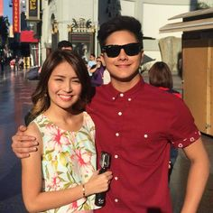 You don't care if I get all melodramatic at times. Daniel Padilla, Kathryn Bernardo, Men Casual, Monthsary, Blouse, Mens Tops, Don't Care, Vacations, Moon