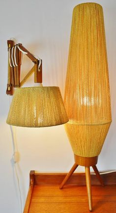 Vintage Table Lamps - For Sale at Home Decor Furniture, Diy Home Decor, Furniture Design, Room Decor, Luminaria Diy, Deco Luminaire, Diy Light Fixtures, Diy Chandelier, Home Lighting