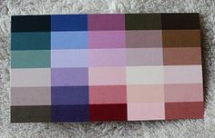 Type 2 colour card. Think romance -take your pure colours and add grey.
