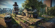 abandoned train station [UDK] - Page 4 - Polycount Forum