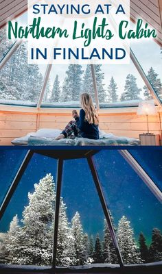 Staying in a glass roofed Northern Lights cabin or glass igloo in Finland. Northern Lights excursions, winter activities, and tips for the best time to visit. Dream Vacations, Vacation Spots, Romantic Vacations, Vacation Places, Italy Vacation, Romantic Travel, Northern Lights Finland, Northern Lights Igloo, Oh The Places You'll Go