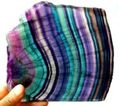 Why does fluorite have different colors? www.geologypage.c...