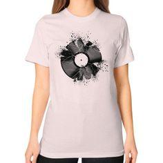 Break the record Unisex T-Shirt (on woman)