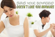 Signs your boyfriend doesn't love you anymore