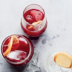 Tangerine Raspberry Iced Tea Recipe — Dishmaps
