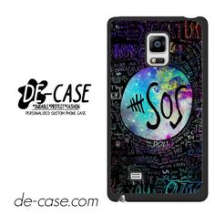 5 Seconds Of Summer 5sos Quote Galaxy DEAL-71 Samsung Phonecase Cover For Samsung Galaxy Note Edge