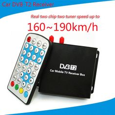 160-190km/h DVB T2 #Car TV Tuner MPEG4 SD/HD 1080P #DVB-T2 Digital #TV #Receiver for Europe Southeast Asia Russia Colombia  	MPEG4 Fully SD/HD Tuner DVB-T2,  SD/HD MPEG2 and  MPEG4 AVC H.264  Resolution   Full HD tuner DVB-T2,support up to 1080P   PAN/NTSC  Automatic PAL/NTSC conversion