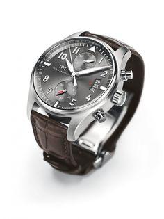 IWC spitfire chronograph watch