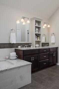 Vintage Meets Modern Bathroom Renovation  Transitional  Bathroom Brilliant Bathroom Remodeling Naperville Design Ideas