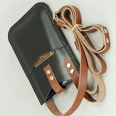 Iphone Leather Case, Iphone Wallet Case, Crossbody Phone Purse, Clutch Bag, Leather Purses, Leather Crossbody, Iphone 6, Cowhide Bag, Leather Holster