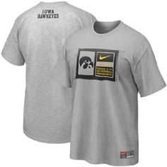 Nike Iowa Hawkeyes NCAA Team Issue Football T-Shirt Gray ... https://www.amazon.com/dp/B00ADJNG4U/ref=cm_sw_r_pi_dp_x_K4rlybEMX639E