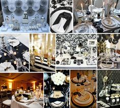 PRETTY PARTY: Black & White New Years Eve