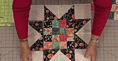 Two Of Our Favorite Blocks Come Together To Form The Adorable Four-Patch Star Quilt!