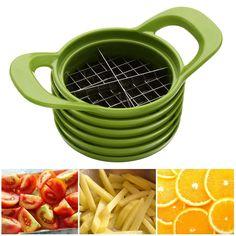 Multifunktions Apfelteiler, Pommesschneder, Obstmesser #Küchengadgets #Kitchengadgets