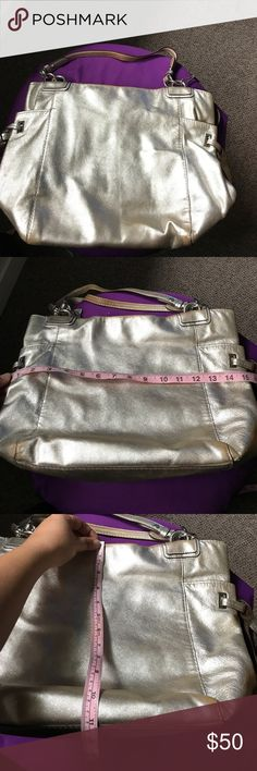 Silver Coach Bag final This bag still has a lot of life to give. Coach Bags