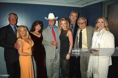 Steve Kanaly, Charlene Tilton, Mary Crosby, Larry Hagman, Sheree J. Wilson, Patrick Duffy, Ken Kercheval and Susan Howard of 'Dallas'