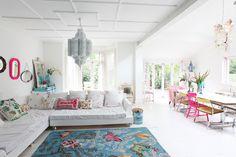 Home of interior design photographer Debi Treloar.