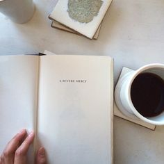 Coffe and deep reads.