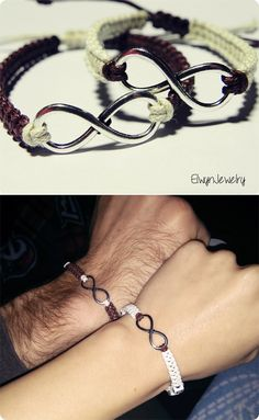 Matching couples bracelets ♥