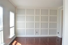 DIY board and batten accent wall.  Step-by-step.