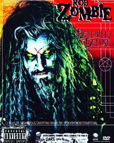 #robzombie #hellbillydeluxe #goth #gothguy #metalhead #metalheadguy #idustrialmetal #horror #horrormetal #horrorguy #halloween #halloweeneveryday #halloweenyearround #numetal