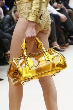Burberry Prorsum SS/2013 silicon handbag