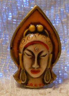 Hey, I found this really awesome Etsy listing at http://www.etsy.com/listing/154501154/vintage-hindu-goddess-broochpin-made-in