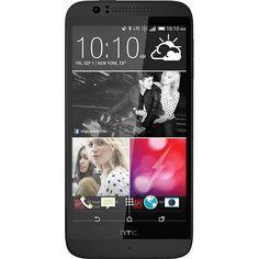 Virgin Mobile - HTC Desire 510 4g No-contract Cell Phone - Black - https://www.buy-accessories.net/shop/cell-phones/virgin-mobile-htc-desire-510-4g-no-contract-cell-phone-black/