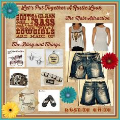 What do YOU want to wear?  Unlimited possibilities!  http://www.therusticshop.com/?store=RusticChic…