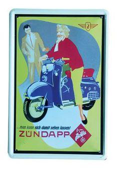 Zundapp 20x30 | Blikken borden 20x30 | www.19toen.nl