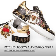 Dolce & Gabbana Online Store, shop on the official store exclusive clothing and accessories for men and women. Dolce Gabbana Online, Exclusive Clothing, Next Shoes, Men And Women, Louis Vuitton, Footwear, Store, Sneakers, Accessories