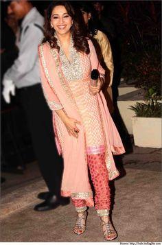 Madhuri Dixit Dresses - Sarees, Anarkali Dress, Salwar Suits, Gowns