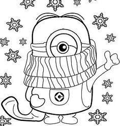 28 Amazing Minions coloring sheets images