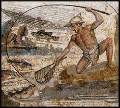 "A giant poolside mosaic featuring fishing scenes has been unearthed in southern Turkey, revealing the far-reaching influence of the Roman Empire at its peak. The floor is in ""pristine"" condition"
