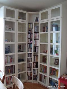 billy bookcase white living rooms pinterest wohnzimmer b cherregale und ikea inspiration. Black Bedroom Furniture Sets. Home Design Ideas