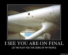 Aviation humor. Got to love the stall horn.