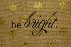 personalized be bright polka dot print on by andalittlebitofstuff